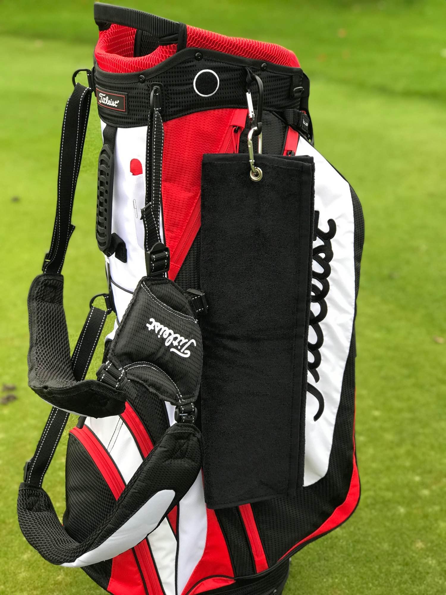 Golfhåndklæde - golfudstyr