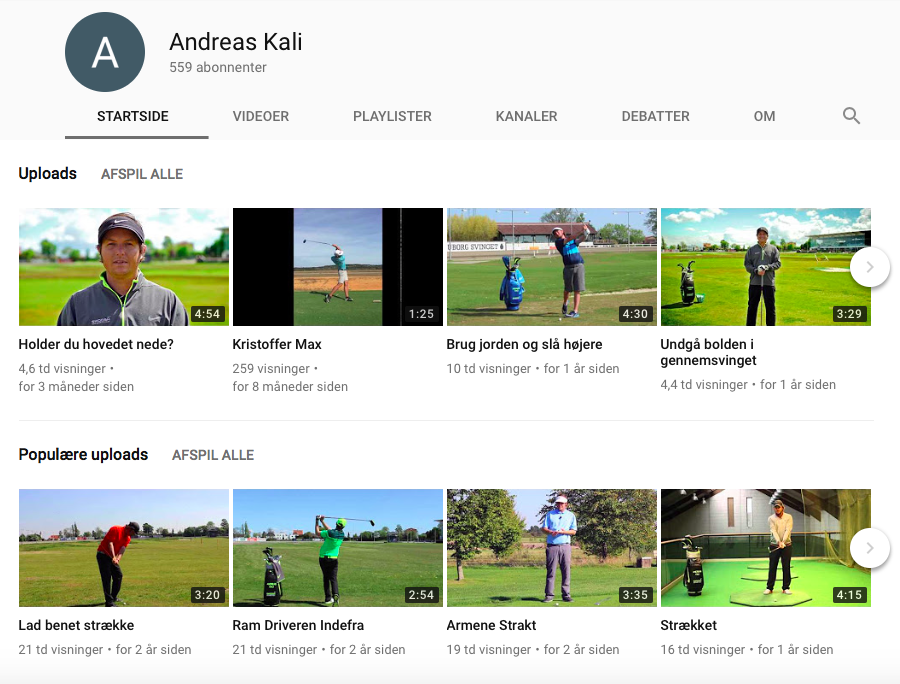 Andreas Kalis YouTube kanal