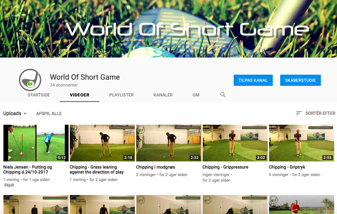 World Of Short Game YouTube